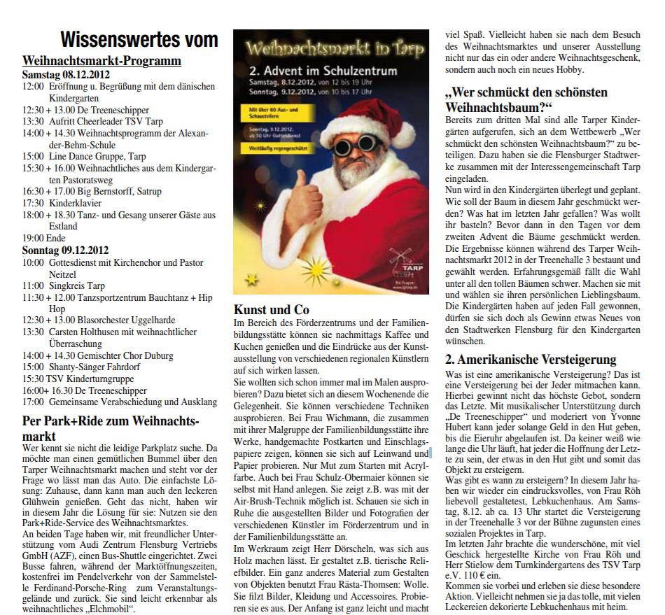 Presse W-Markt 2012 2