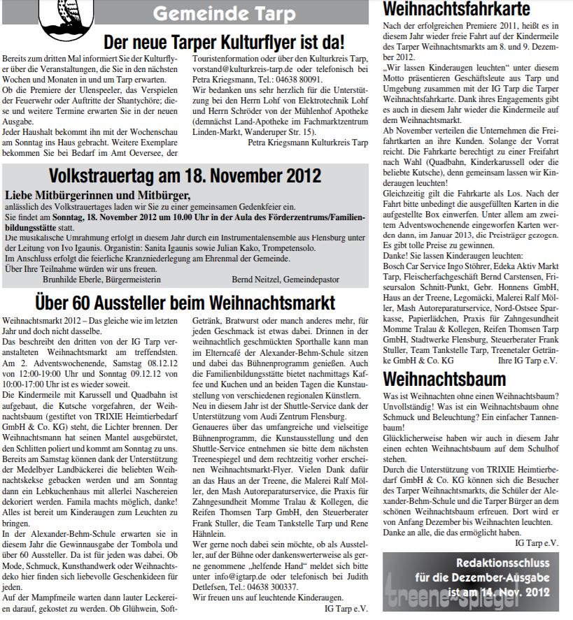 Presse W-Markt 2012