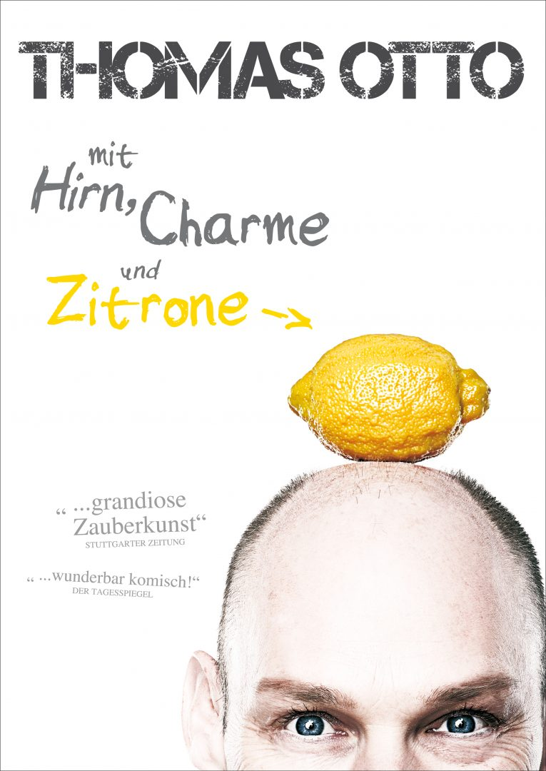 Zitrone Poster A4
